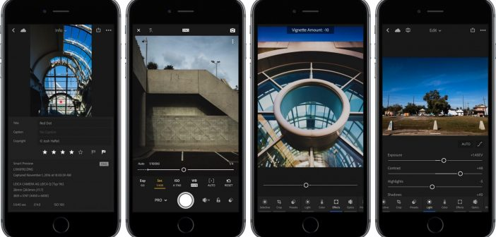 Lightroom 2.6 for iOS iPhone screenshot 001 702x336 - Lightroom for iOS and Android with 3D Touch Support for free