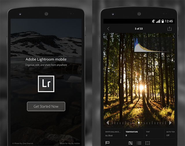 lightroommobileandroid1 - Lightroom for iOS and Android with 3D Touch Support for free