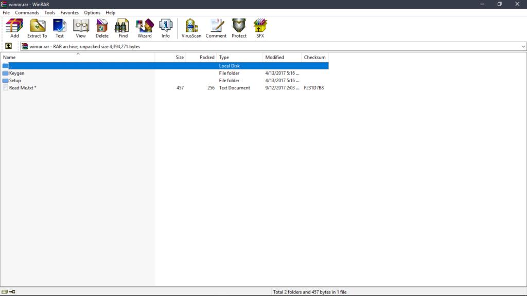 Capture1 1024x576 - WinRAR 5.60 Beta 4 Archive Software