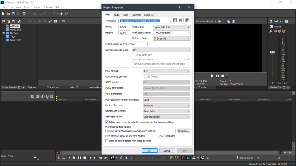 sony2 1024x576 - Sony Vegas Pro 15 Free Download - Get Into PC