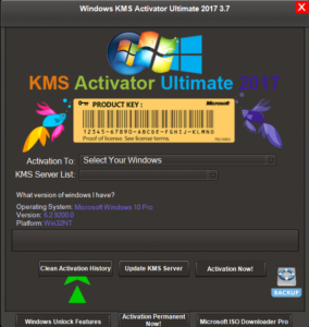 kms1 284x300 - Windows KMS Activator Ultimate 2017 3.7