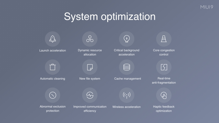 miui 9 system optimization - MIUI 9 Rolling Out In India On 2 November