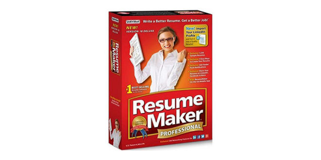 ResumeMaker.Pro.Deluxe.20.1.0.115 with Crack 2018