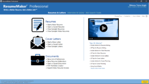 resume2 300x169 - ResumeMaker Professional Deluxe 20.1.0.120 with Crack 2018