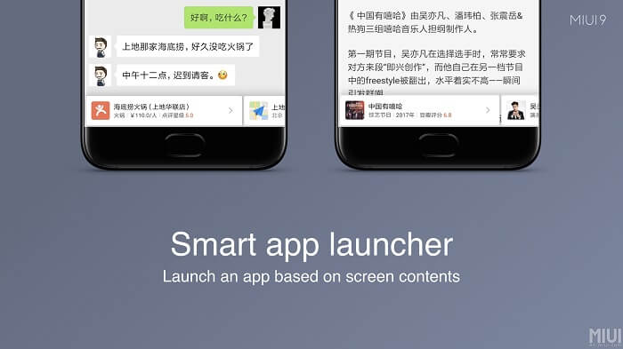 xiaomi smart app launcher - MIUI 9 Rolling Out In India On 2 November