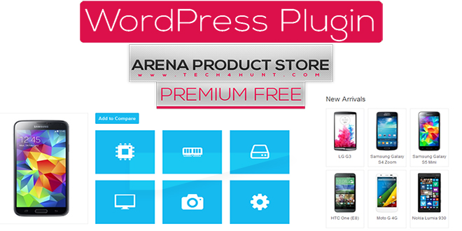 areanasite - Arena Products Store –v2.5.3 WordPress Plugin