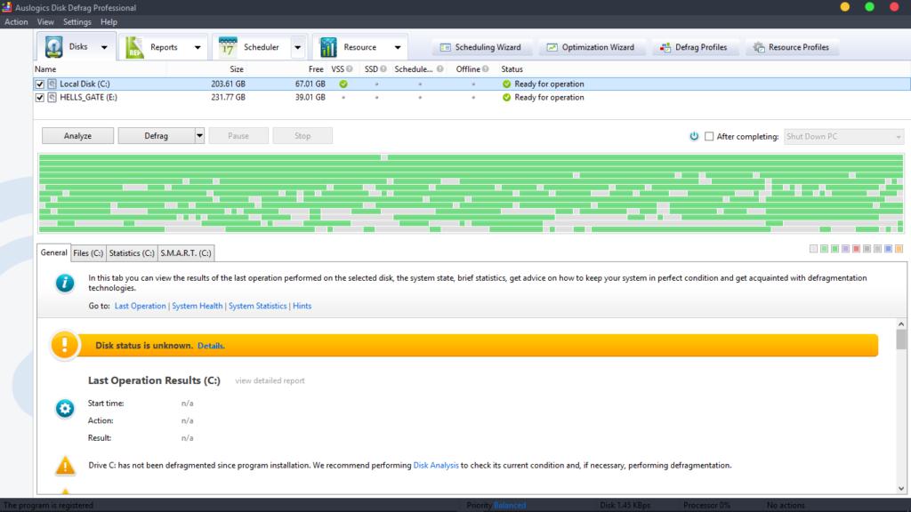 auslogic defrag 1 1024x576 - Auslogics Disk Defrag PRO v4.9.0.0 Multilingual + Keygen