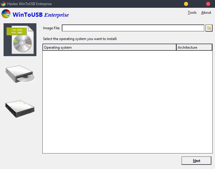 wintousb 1 - WinToUSB Enterprise 4.1 + Crack