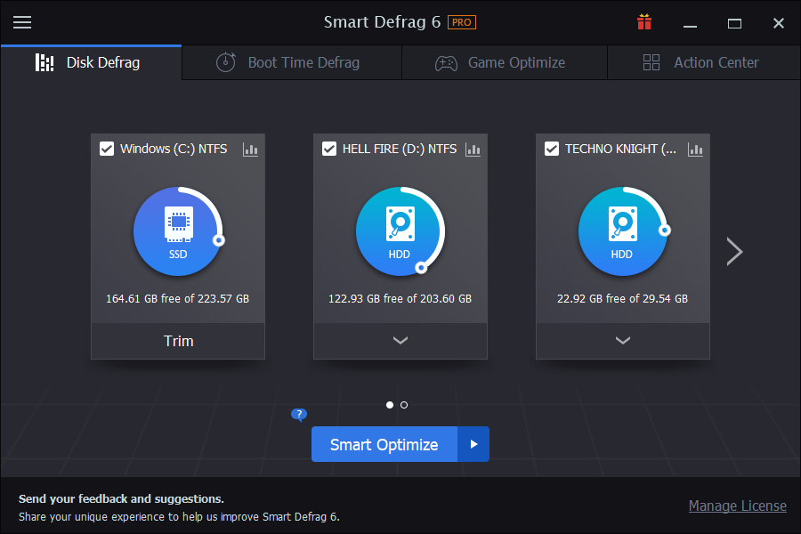 smart defrag 6 license key