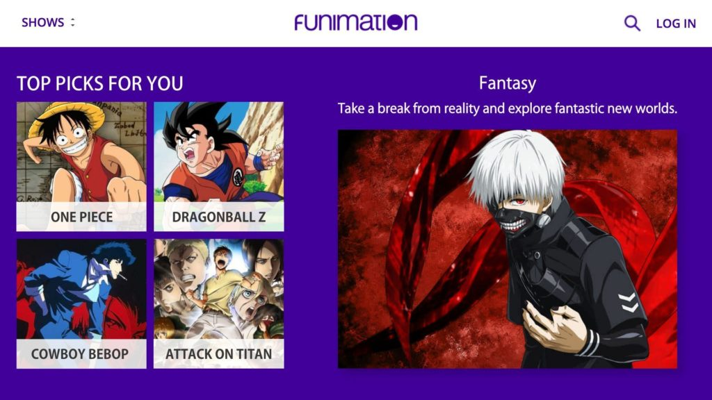 funimationnow apk