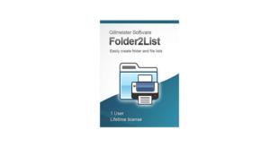 folder2list license key